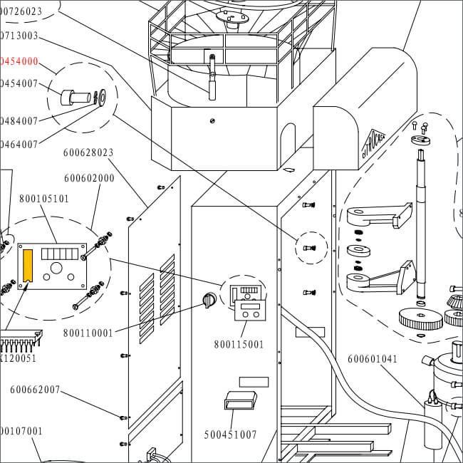 citrocasa 7000 sb parts diagram